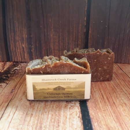 Cinnamon Oatmeal Goat Milk Soap