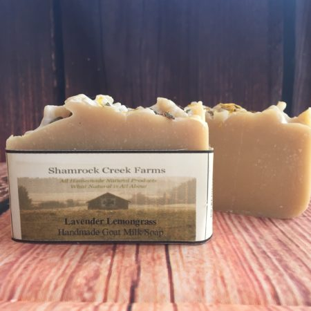 Lavender Lemongrass Goat Milk Soap