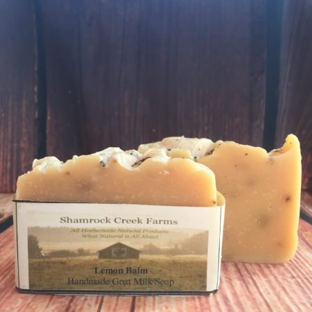 Lemon Balm Goat Milk Soap