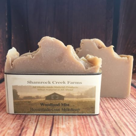 Woodland Mist Goat Milk Soap