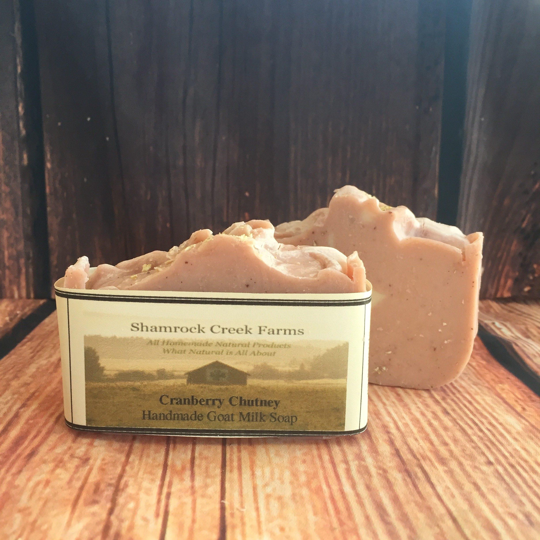 Cranberry Chutney Goat Milk Soap