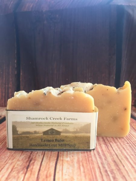 Lemon Balm Goat Milk Soap