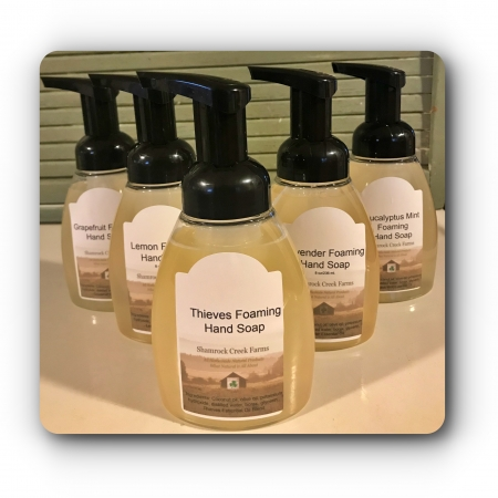 Foaming Hand Soaps & Sanitizers